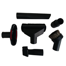 SANQ Universal Vacuum Cleaner Accessories Cleaning Kit Brush Nozzle Crevice Tool for 32mm& 35mm Standard Hose 6pcs цена и фото