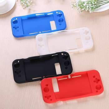 Anti-Slip Silicone Protective Case Cover Protector For Switch game Console Soft TPU integrated shell handle accessory