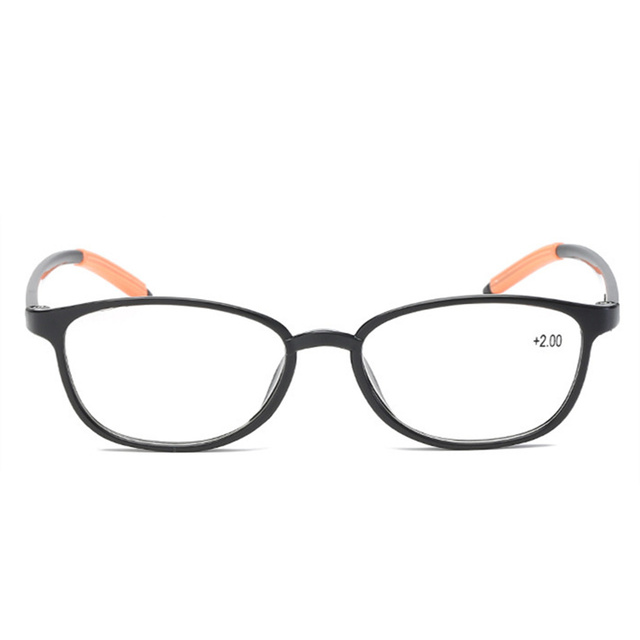 XojoX Retro Fashion Reading Glasses Women TR90 Presbyopic Eyeglasses Men Anti Fatigue Hyperopia Diopter Galsses +1.0 1.5 2.0 2.5