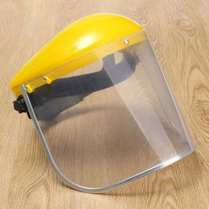Image 2 - Hot Sale 1x Clear Safety Grinding Face Shield Screen Mask For Visors Eye Face Protection