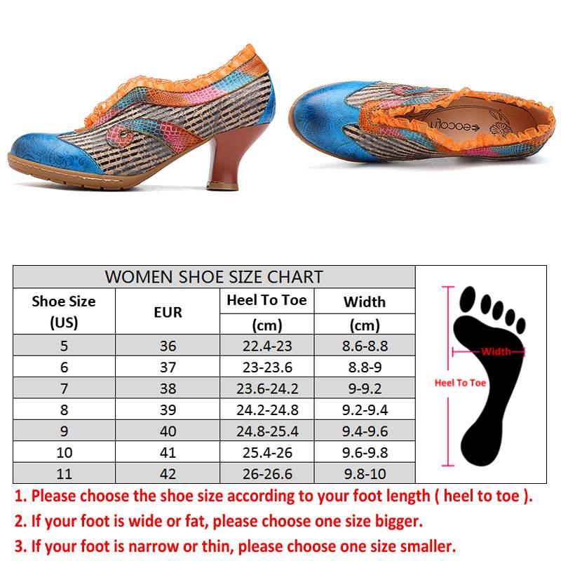 Socofy 우아함 레이스 숙녀 신발 정품 가죽 접합 검은 줄무늬 v 입 와인 글라스 발 뒤꿈치 슬립 펌프 여성 발 뒤꿈치 새로운-에서여성용 펌프부터 신발 의  그룹 3