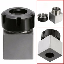 New ER-32 65mm Square Collet Chuck Block Extension Rod Tool Holder 3900-5124 for Lathe Engraving Machine стоимость