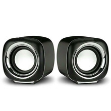 mini usb speaker set  speakers computer wire 2.5 inch 3