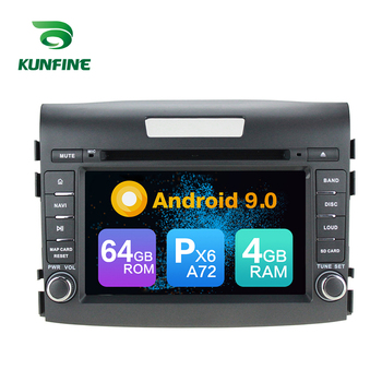 Android 9.0 Core PX6 A72 Ram 4G Rom 64G Car DVD GPS Multimedia Player Car Stereo For HONDA CRV 2012 2013 2014 radio headunit
