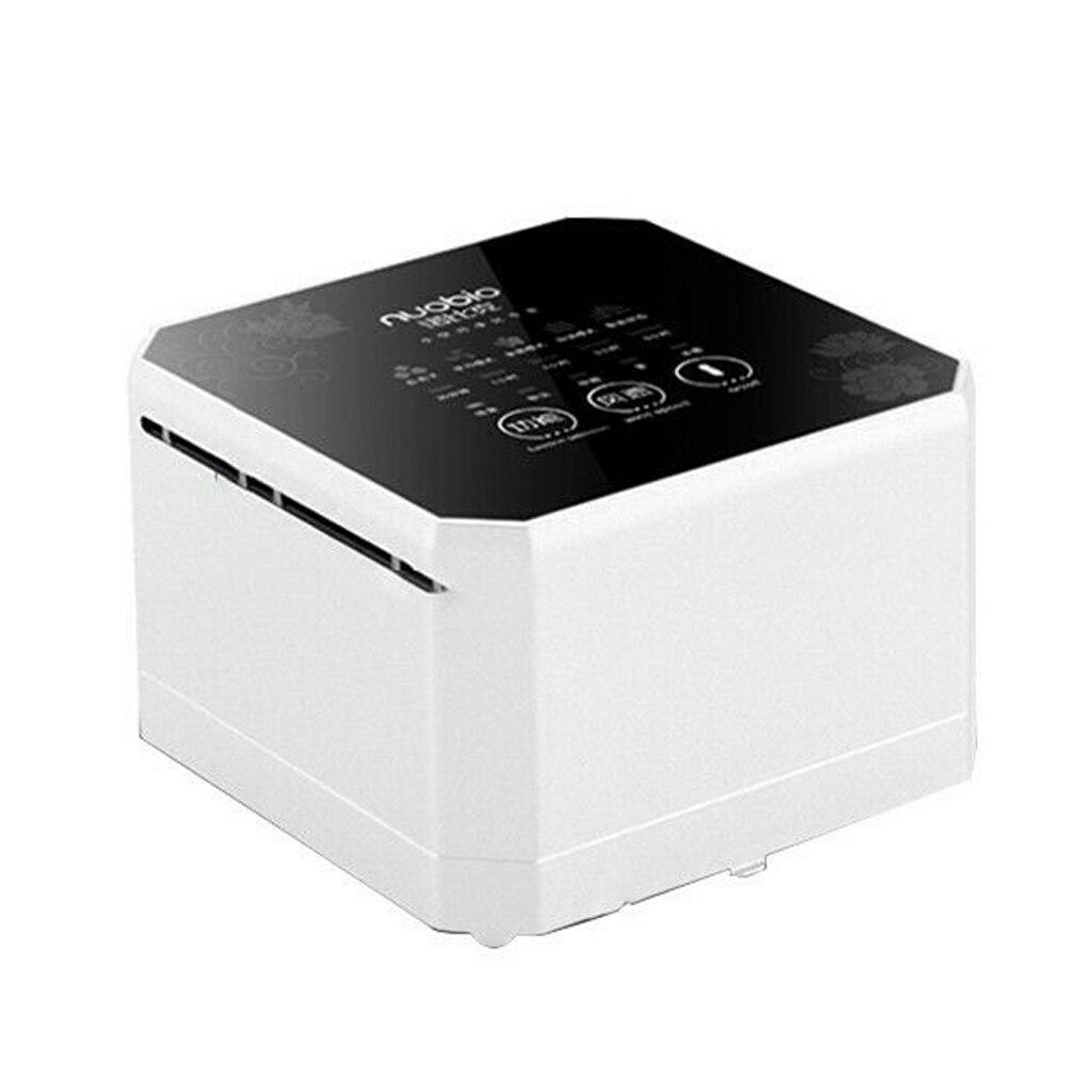 Purificador de aire de generador de iones negativos Nobico para el hogar con filtro HEPA verdadero, Mini ionizador de aire de escritorio, purificador de aire compacto para el hogar