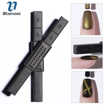 One Piece Cat Eye Double Head Strong Magnet Stick Black Nail  Art Tools for UV Gel Polish Nail Varnish Manicure Nail Art