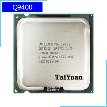 Ntel Core 2 Quad Q9400 2 6 GHz czterordzeniowy procesor CPU 6M 95W 1333 LGA 775 tanie tanio Używane İntel Pulpit Quad-core Intel core 6 mb 95 w 45 nanometrów