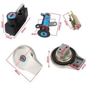 Image 3 - Ignition Gas Cap Steering Lock Set for Yamaha Virago XV 535 250 125 XV250 XV535