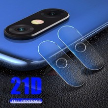 2PC 21D Back Camera Lens Protector Protective Film For XiaoMi Mi Play Mix 2S 3 F1 Redmi Note 5 Pro 6 7 Tempered Glass 9H Cover