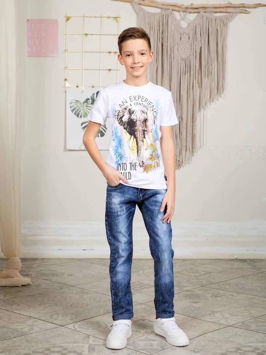 Jeans denim Luminoso for boys толстовка wearcraft premium унисекс printio закусочная боба bob's burgers