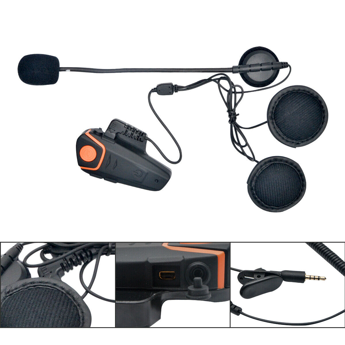 1000 m BT-S2 casque de moto Bluetooth casque moto interphone étanche