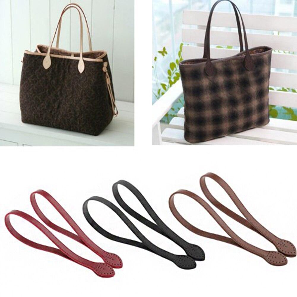 Hot Women Shoulder Bags Handle Detachable PU Leather Bag Belt DIY Replacement Handbag Strap Bag Accessories 2Pcs 60cm