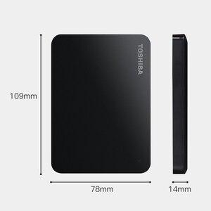 Image 2 - TOSHIBA disque dur externe HDD 3.0 pouces, Canvio Basics 2.5, dispositif de stockage Portable, USB 3.0 SATA3, avec capacité de 1 to, 2 to