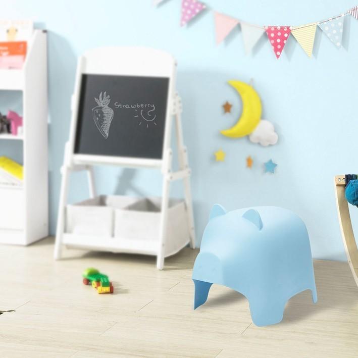 SoBuy KMB14,  Kids Chair Children Stools Plastic Pig Design Chair