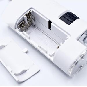 Image 4 - Evrensel 40 60X/80 120X cep telefonu mikroskop takı kimlik ayarlanabilir Lens Zoom cep telefonu klip LED ışık 025