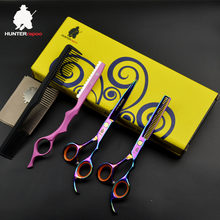 30%off HT9127 scissors hair professional scissors set japan 6 inch hairdressing thinning scissors for barbershop hair clippers(China)