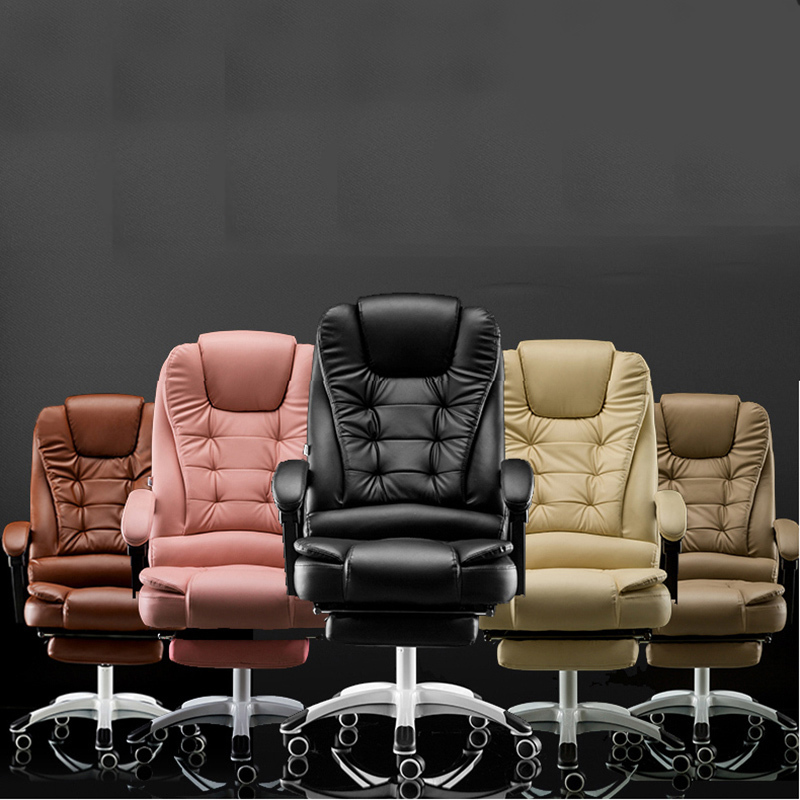 Купить с кэшбэком High Quality Office Chair For The Head Ergonomic Office Chair Computer Chair Boss Ergonomic Chair With Footrest