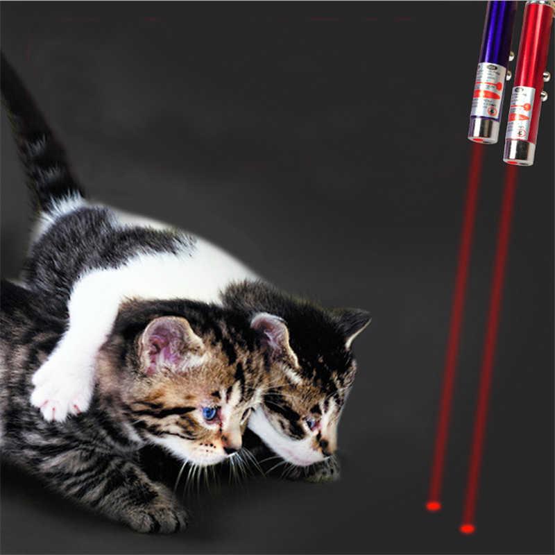 الليزر لعبة للقطط الليزر القط مؤشر قلم لعبة تفاعلية مع مشرق الرسوم المتحركة الماوس العيون الإبداعية مضحك الحيوانات الأليفة LED الليزر لعبة القط