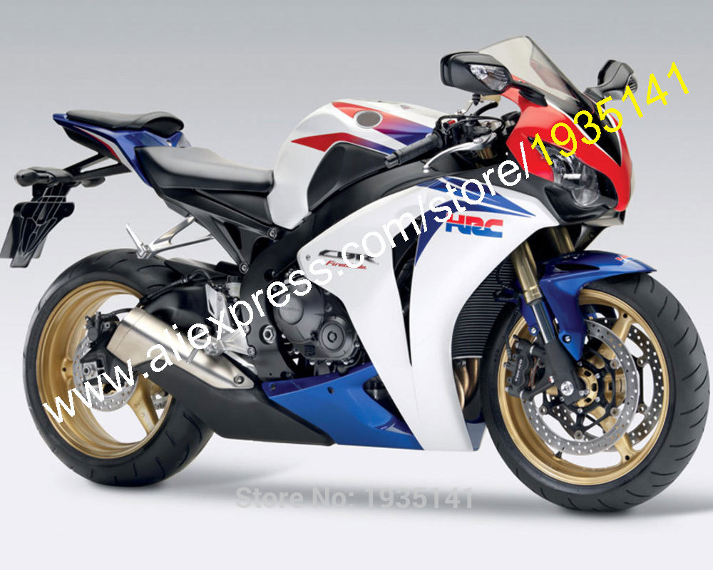For Honda CBR1000RR 2008 2009 2010 2011 CBR 1000 RR 08 09 10 11 HRC Motorcycle Fairing Kit (Injection Molding)