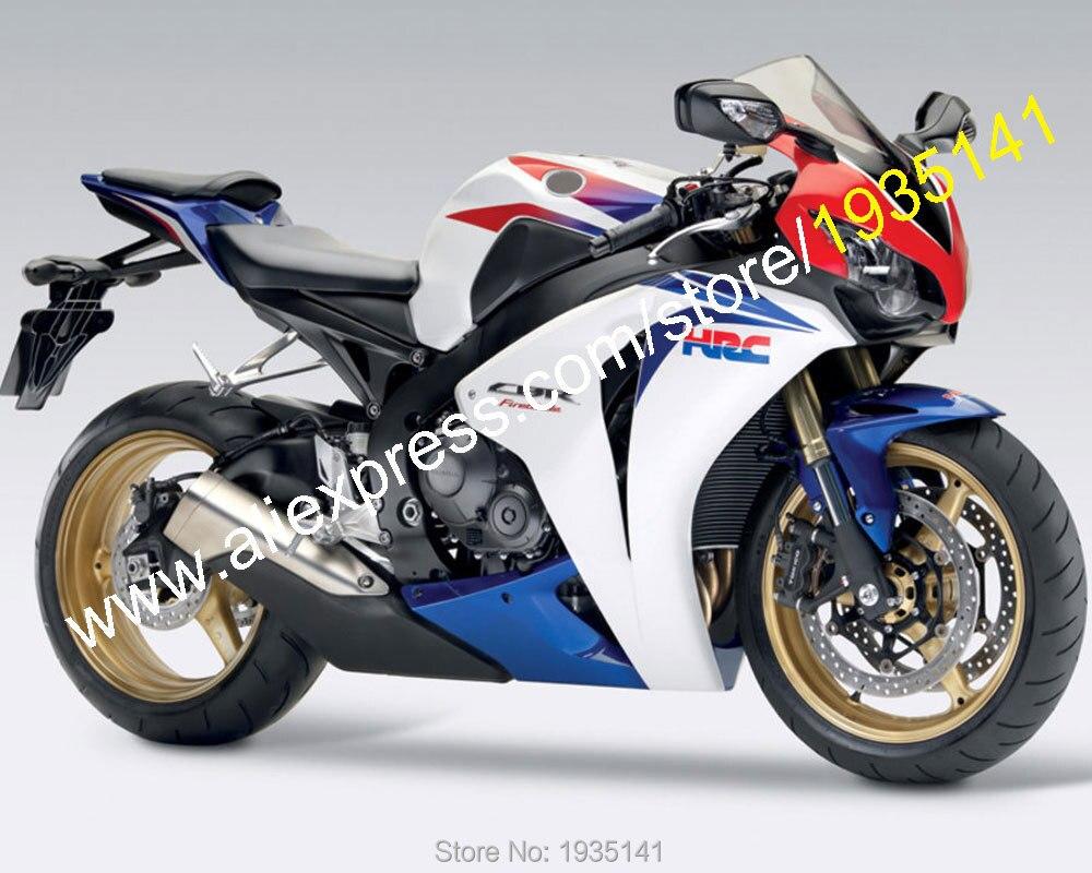 Vendite calde, per Honda CBR1000RR 2008 2009 2010 2011 CBR 1000 RR 08 09 10 11 HRC Moto Kit Carena (Iniezione stampaggio)