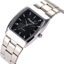Lovers Wrist Watch Classic Steel Bring Square Male Ma'am Res