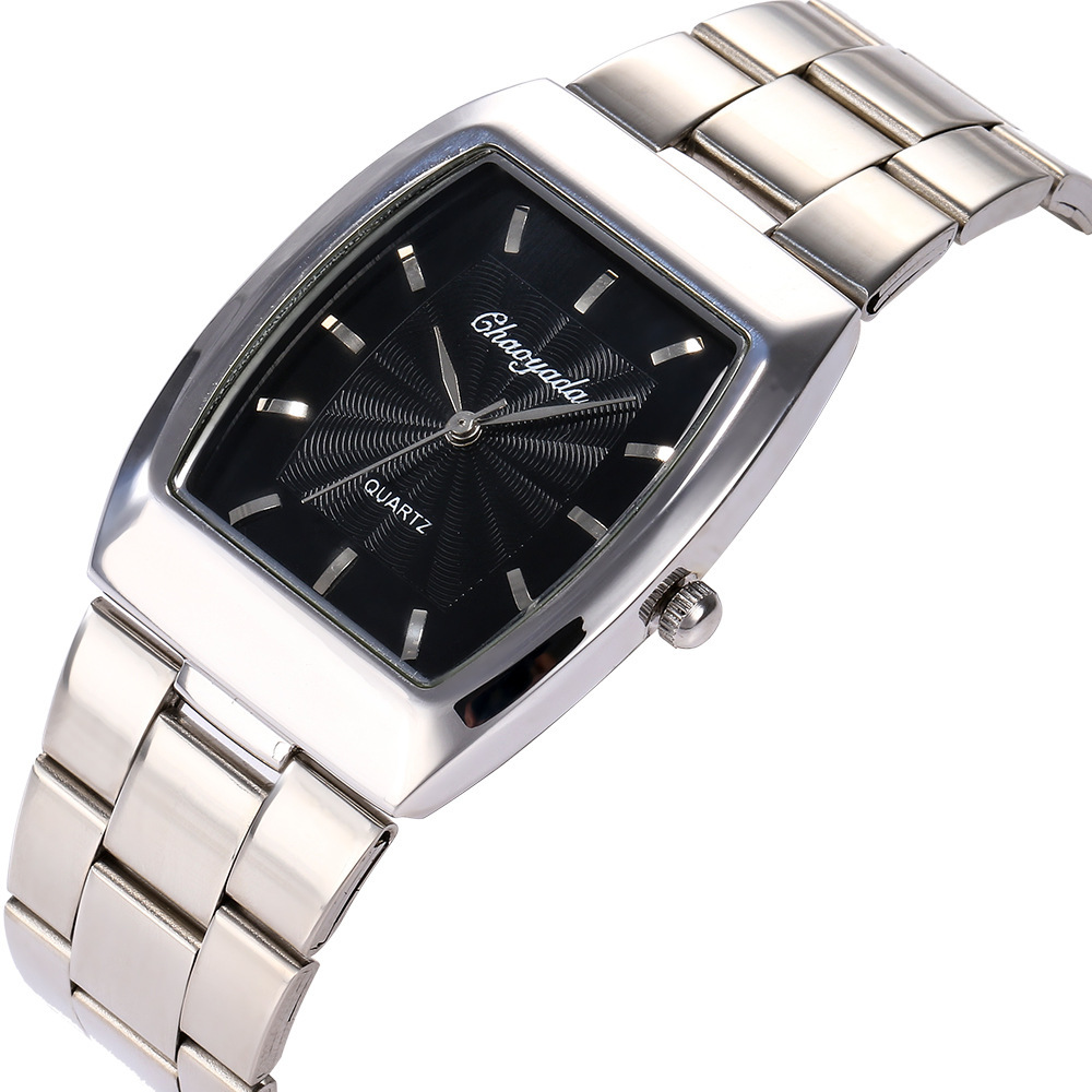 Lovers Wrist Watch Classic Steel Bring Square Male Ma'am Restore Ancient Ways Cask Quartz Wrist Watch Watch Customized