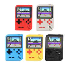 Портативная игровая консоль 3 дюйма 8 бит ретро мини карманный портативный тетрис игровой плеер встроенный 400 классические игры