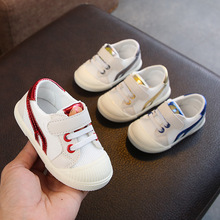 New Unisex Baby shoes 2019 discount Child sneakers Study Walking Hook/loop Soft Bottom Non-slip Leisure Time Skate