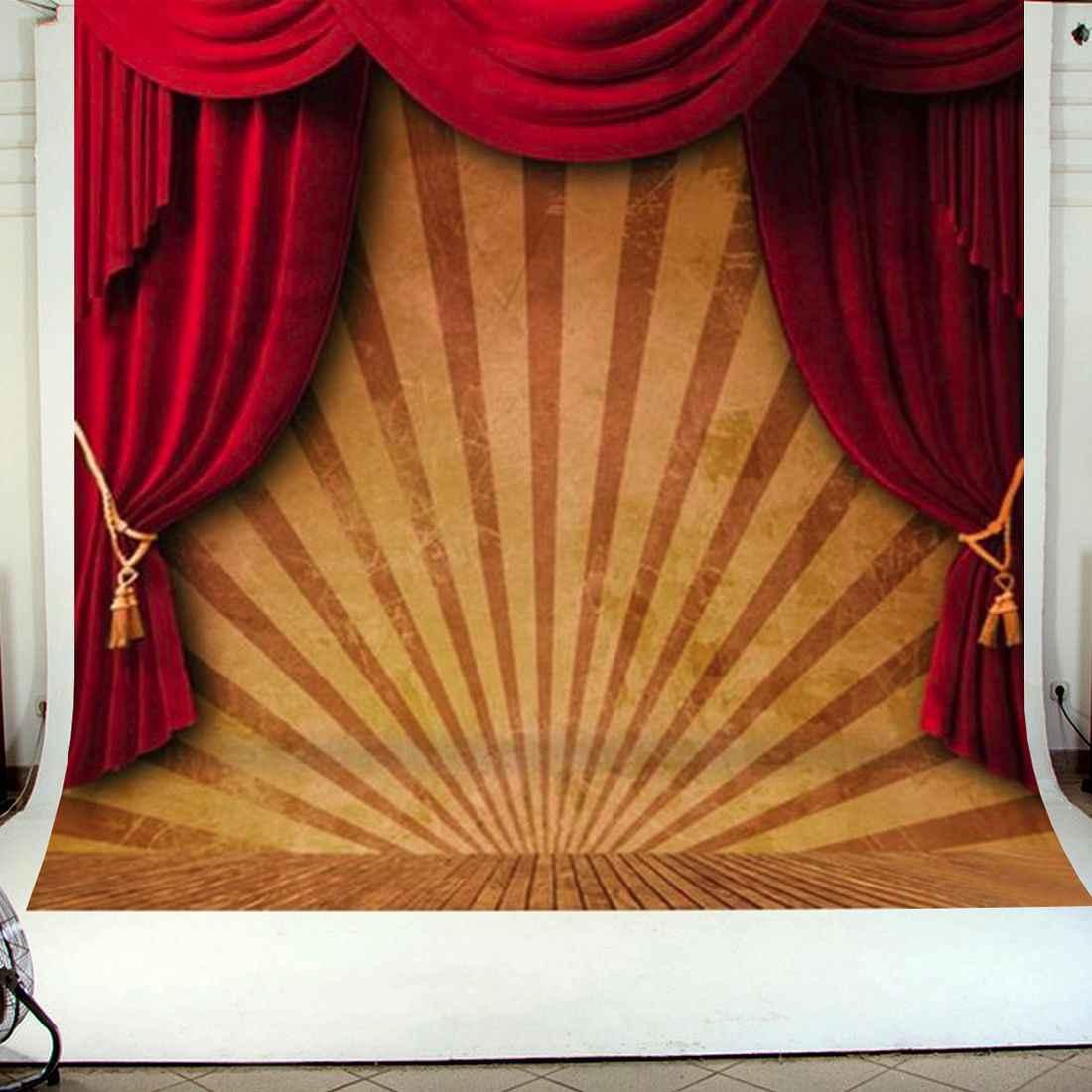 10x10 футов цирковой красный занавес сценический фон для фотосъемки студийный виниловый прочный складной светильник инструмент для тяжелой фотосъемки