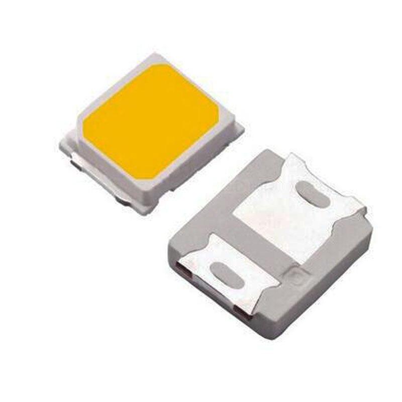 100PCS SMD 2835 1W White LED 18v 60ma  CRI>80ma For LED Lighting 3000K 4000K 6000K Available