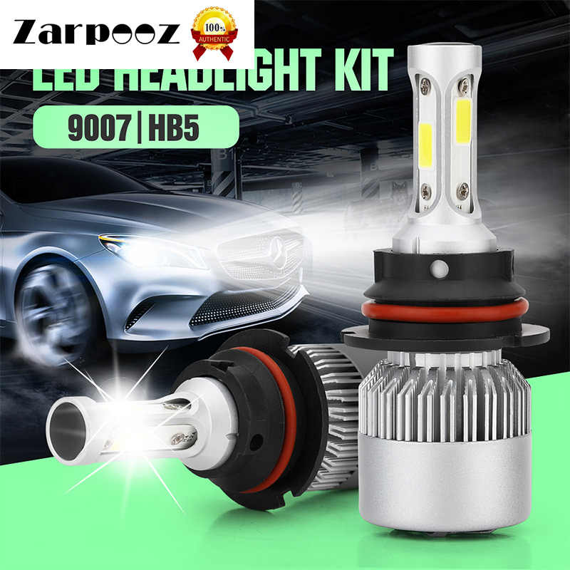 Zarpooz 2pcs Car Headlights 6000K H4 Led H7 LED  H1 H3 H4 LED H7 H8 H9 H11 880 881 9004 9005 9006 9007 Led Auto  Lights Bulbs