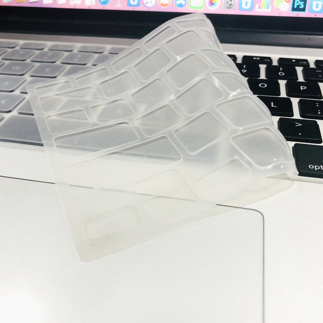 For Apple Macbook pro13/11Air 13/15 Retina12 inch All series silicone keyboard cover case transparent clear protecter film EU/US 5
