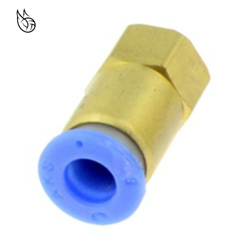 """M12 Male Thread 1//4/"""" Tube T Shaped Quick Connector 5pcs for RO Water System"""