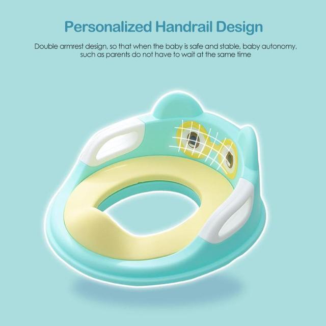 Pot de toilette Portable avec accoudoirs | Siège dentraînement antidérapant pour bébés, coussin durinoir pour nourrissons, sièges de formation de toilette sûrs pour enfants