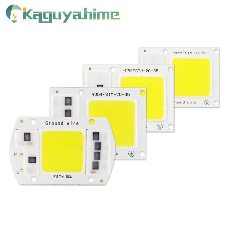 Kaguyahime DIY Warm/Cold/Grow COB LED Chip 220V 5W 20W 30W 50W 100W For Projector Spotlight Floodlight Lamp DIY Integrated Chips