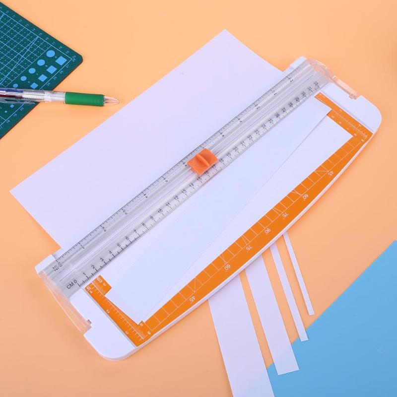A4 Precision Trimmer Manual Paper Cutter Scrapbook Album Photo Trimmers Knife Blade Machine Album Photo Trimmers Knife Blade in Die Cut Machines from Home Garden