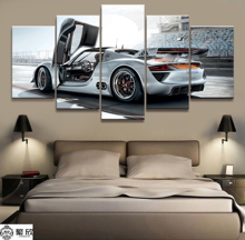Home Decor Modular Canvas Picture 5 Piece 918 Rsr Super Car Poster Art Painting Poster Wall For Home Canvas Painting Wholesale canvas painting poster colourful leaf trees 4 piece painting wall art modular pictures for home decor wall art picture painting