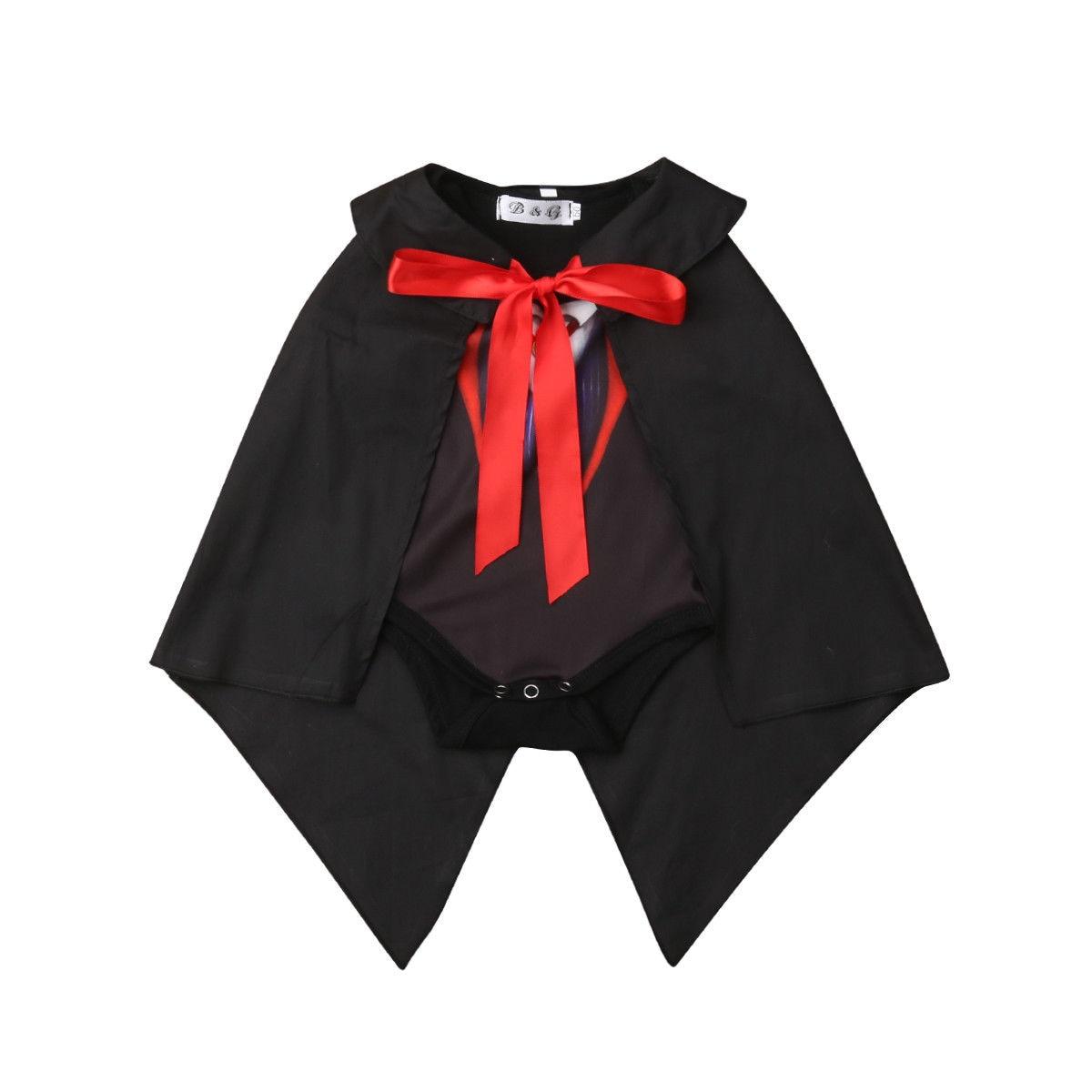 Angemessen Neue Stil Kleinkind Baby Kid Theater Cosplay Outfit Romper + Mantel Mantel Set Kleidung Attraktiv Und Langlebig