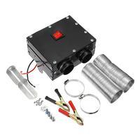 24V 300W Car Electric Heater Car Truck Auto Fan Heater Windscreen Defogging Defrosting Warm Leg Foot Double Outlet Holes