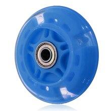 Новые 4 цвета вспышки для бесшумных колес Колеса Самокат мигающий свет детская Автомобильная игрушка Подарки роликовое катание и скейтборд вспышка ролл