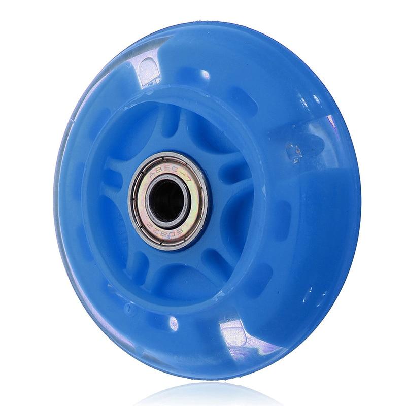 Новый 5 Colorfuls Flash для бесшумных колес колеса самоката мигающий свет детская Автомобильная игрушка Подарки