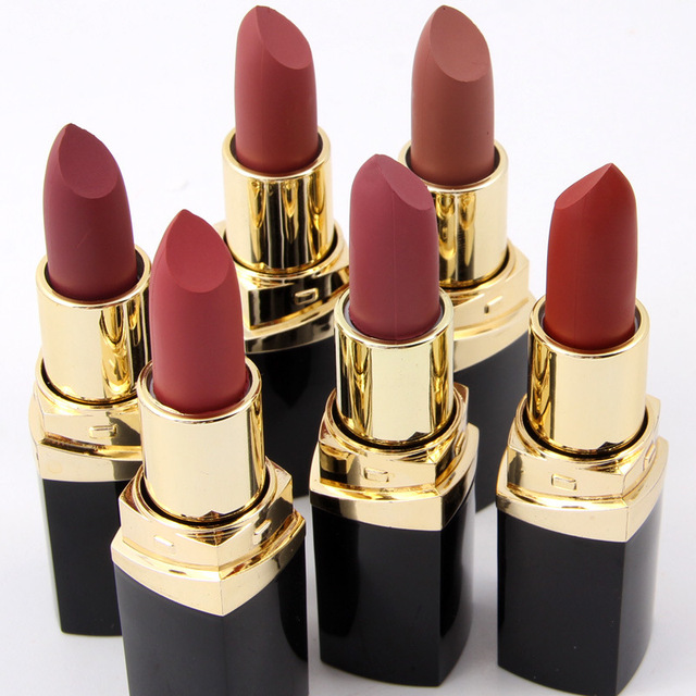 Matte Waterproof Long Lasting Nude Lipstick