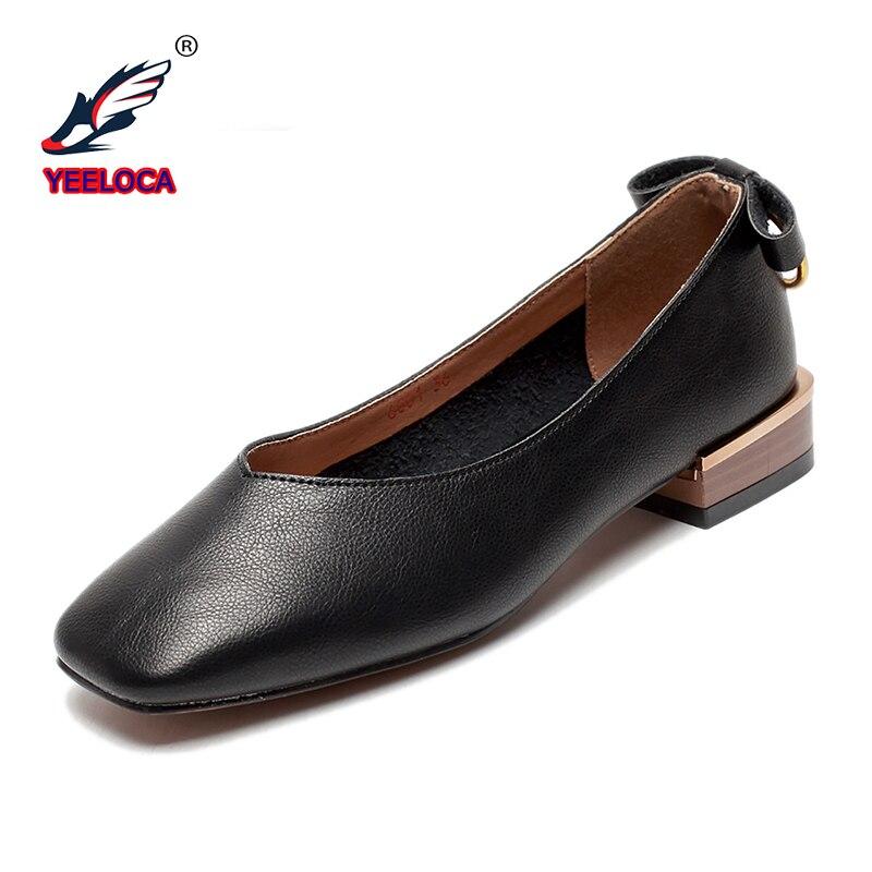Marque khaki Femmes Occasionnels Confortable Bout Zapatos En Nouvelles Plat Chaussures Luxe Dames De Plates Pointu Black Mujer Printemps Cuir rwKq0r8pxU