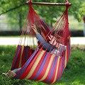 Сад балкон крыльцо холст качели стул Повседневный деревянный гамак портативный открытый Крытый палка качели сиденье с подушкой HW03
