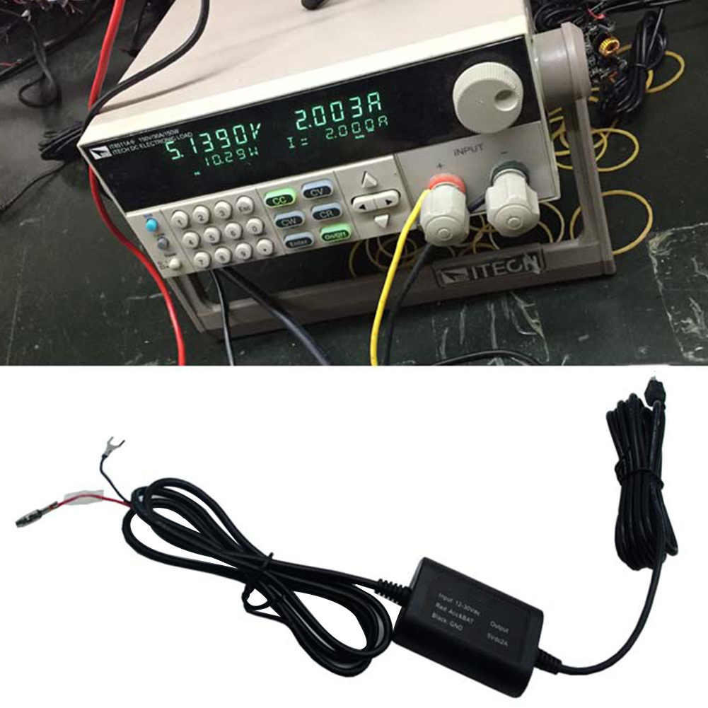 hight resolution of  recorder fuse box charger buck micro usb modified line adapter vehicle dvr universal car hard wire