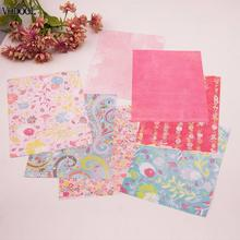 VODOOL 14 Sheets Vintage Scrapbooking Pads Origami Cutting Dies Art Background Card