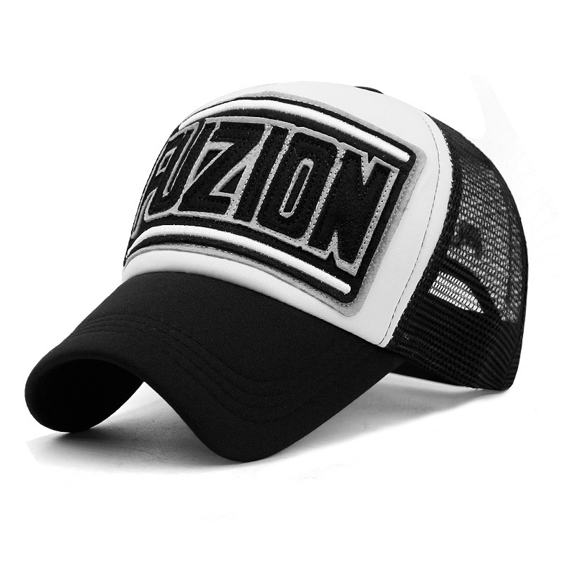 Wholesale Adult Summer Sun Hats Men Cool Hiphop Punk Rock Truck   Cap   Women Fashion Mesh   Baseball     Caps   11 Colors