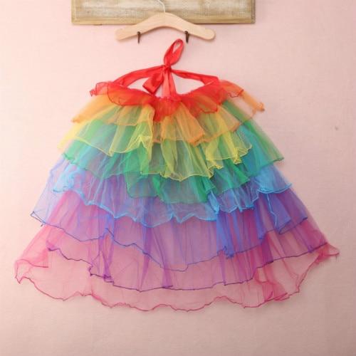 Women Adult Dancewear Tutu Ballet Pettiskirt Princess Party Skirt Costume Dress