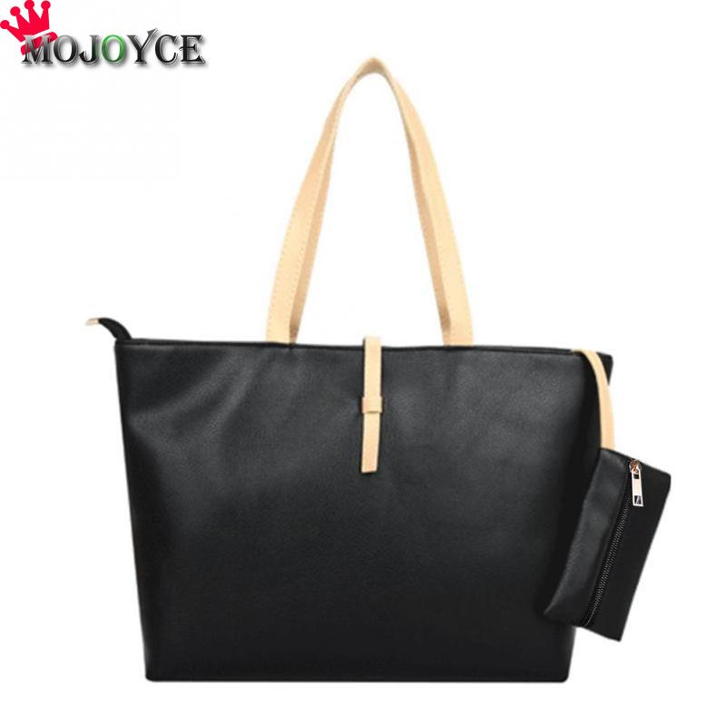<font><b>Women</b></font> Tote PU Leather <font><b>Shoulder</b></font> <font><b>Bags</b></font> Handbag Square <font><b>Big</b></font> Capacity Casual Top-handle Tote <font><b>Shoulder</b></font> <font><b>Bag</b></font> Beach Bolsos Mujer <font><b>2018</b></font> image