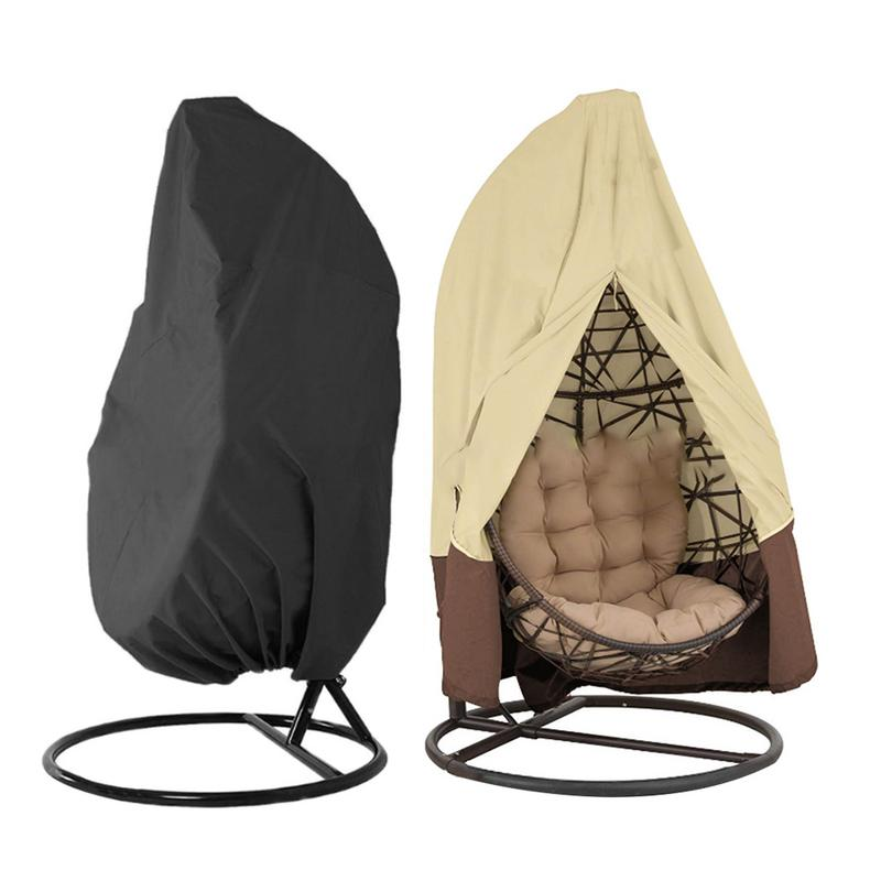 Garden Rocking Chair Dustproof Rain Shelter Outdoor Furniture Cover Water Resistant Durable Garden Supplies